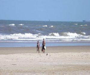 Praia da Atalaia traquilidade a beira mar  (Foto: Joelma Gonçalves/G1 SE)