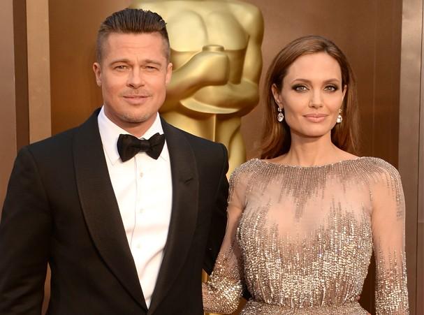 Brad Pitt e Angelina Jolie estariam finalmente casados (Foto: Getty Images)