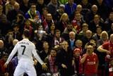 Liverpool x Real Madrid - Cristiano Ronaldo comemora gol