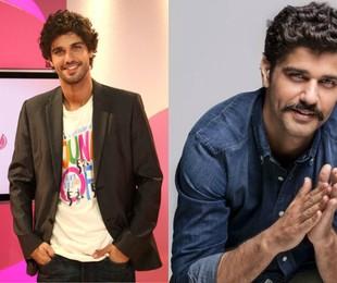 Protagonista da nova novela das 18h da Globo, 'Tempo de amar', Bruno Cabrerizo foi apresentador do programa 'Salsa rosa', na Itália, no início da carreira na TV, em 2010   Reproduções de internet