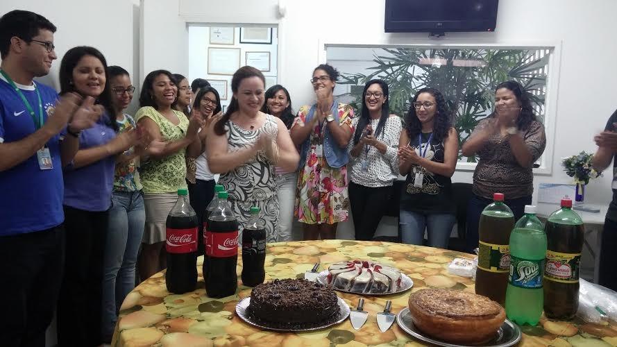 Marli Ruys ganhou festa surpresa (Foto: Arquivo Pessoal/ Raquel Carvalho)