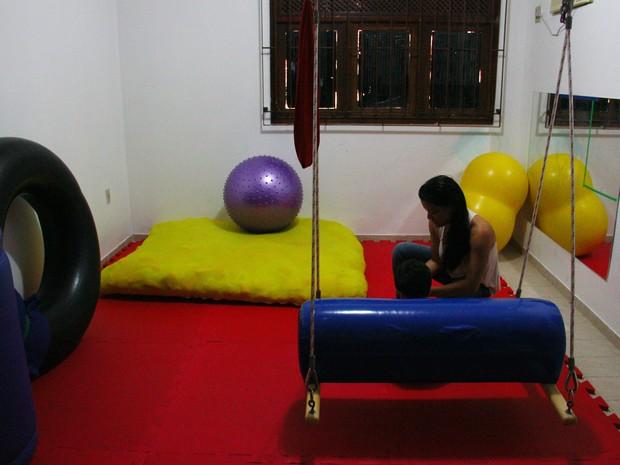 Crianças com autismo precisam de terapia de qualidade (Foto: Michelle Farias/G1)