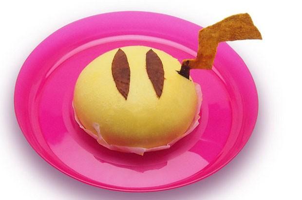 Doce de feijão imita as costas de Pikachu (Foto: Divulgação/Pikachu Cafe)