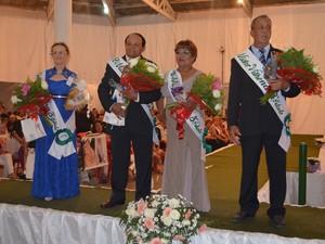 Madalena Pinheiro de Morais, Cícero Cirilo da Silva, Raquel Rojas e José Antenor da Rosa (Foto: Lauane Sena/G1)