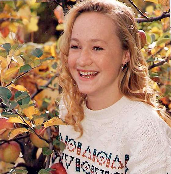 Rachel Dolezal, loira na juventude  (Foto: Amily/Splash News)