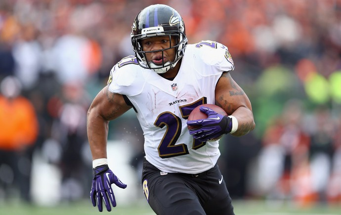 Futebol Americano - Ray Rice, Baltimore Ravens (Foto: Getty Images)
