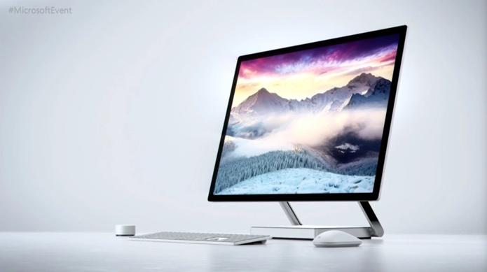 Desmonte do Surface Studio revela uso de processador ARM e de solução interessante de cache para o disco rígido (Foto: Divulgação/Microsoft)