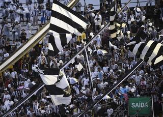 Torcida Botafogo (Foto: André Durão)