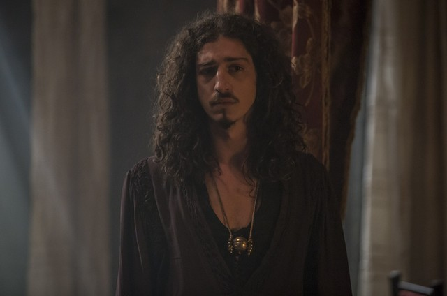 Johnny Massaro, o Rodolfo de 'Deus salve o rei' (Foto: Artur Meninea/TV Globo)