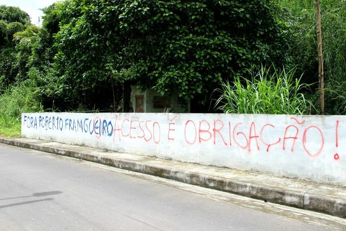 Protesto Nacional Amazonas (Foto: Indiara Bessa/G1 Amazonas)
