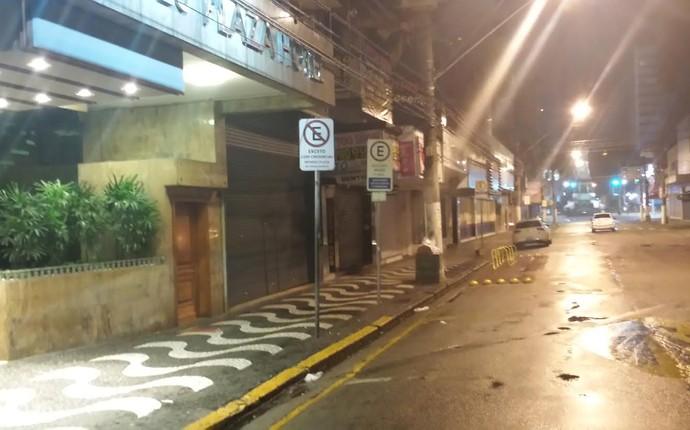 Fogos hotel do Cruzeiro (Foto: Marco Antonio Astoni)