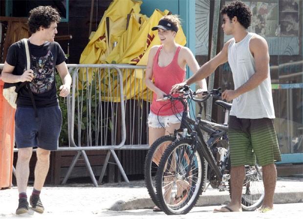 Fabio Audi, Sophia e Sergio Malheiros (Foto: Wallace Barbosa / Agnews)