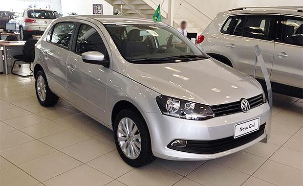Volkswagen Gol em concessionária de São Paulo (Foto: Giulia Lanzuolo/Autoesporte)