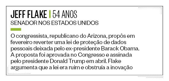 Jeff Flake Ficha (Foto: ÉPOCA)
