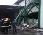 Explosão em fábrica de MG deixa 26 feridos (Reprodução/GloboNews)