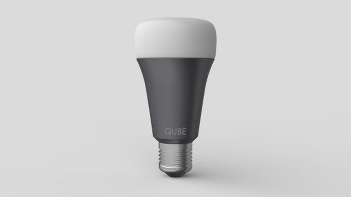 Qube, lâmpada inteligente de LED se conecta a rede Wi-Fi (Foto: Divulgação)