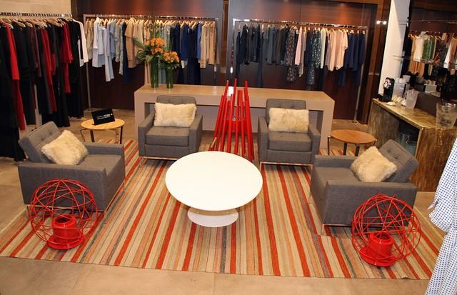 O lounge de Camila Klein na Spezzato (Foto: Divulgação)