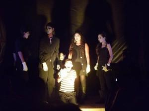 Gupo de teatro formado por atores surdos se prepara para segundo espetáculo, em Guajará-Mirim, RO (Foto: Arquivo pessoal)