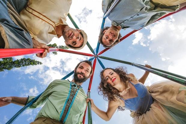 Arca de Noé com a Banda Strombólica (Foto: Divulgação)