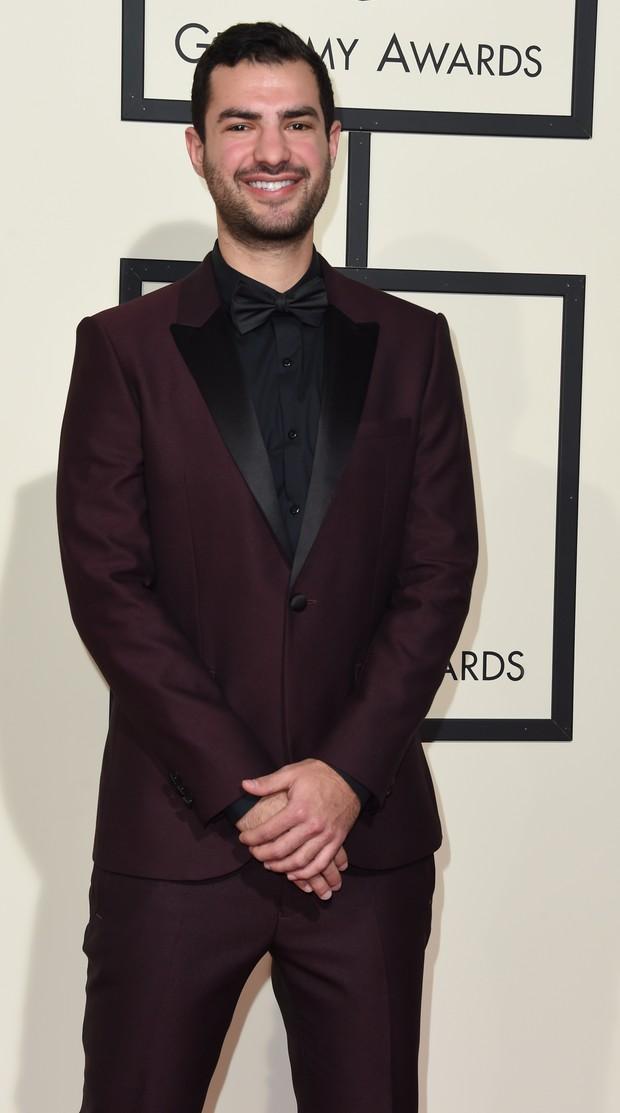 Andrew Cedar no Grammy 2016 (Foto: Getty Images)
