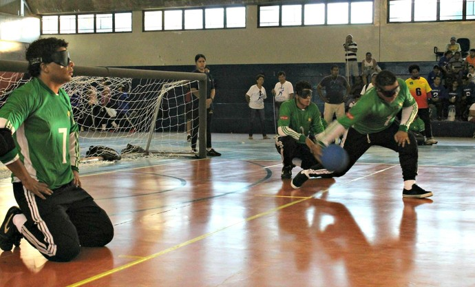 Regional Centro-Oeste de goalball disputado em Campo Grande (Foto: Divulgação/CBDV)