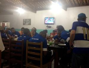 CSA restaurante (Foto: Viviane Leão/GloboEsporte.com)