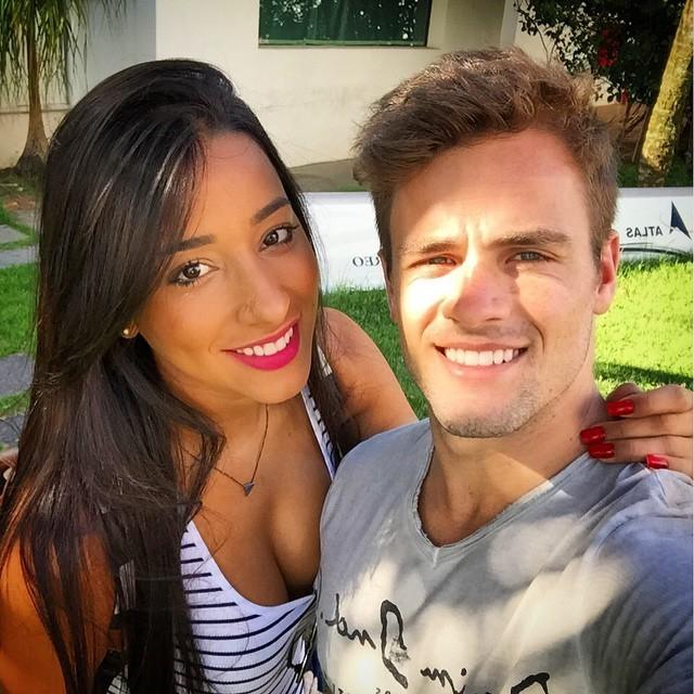 Talita Araujo e Rafael Licks (Foto: Instagram / Reprodução)