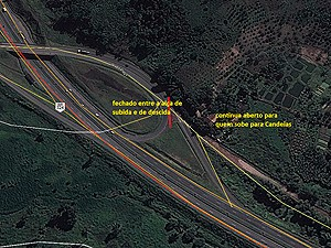 Desviou fechado em Candeias, Bahia (Foto: Divulgação/ Via Bahia)