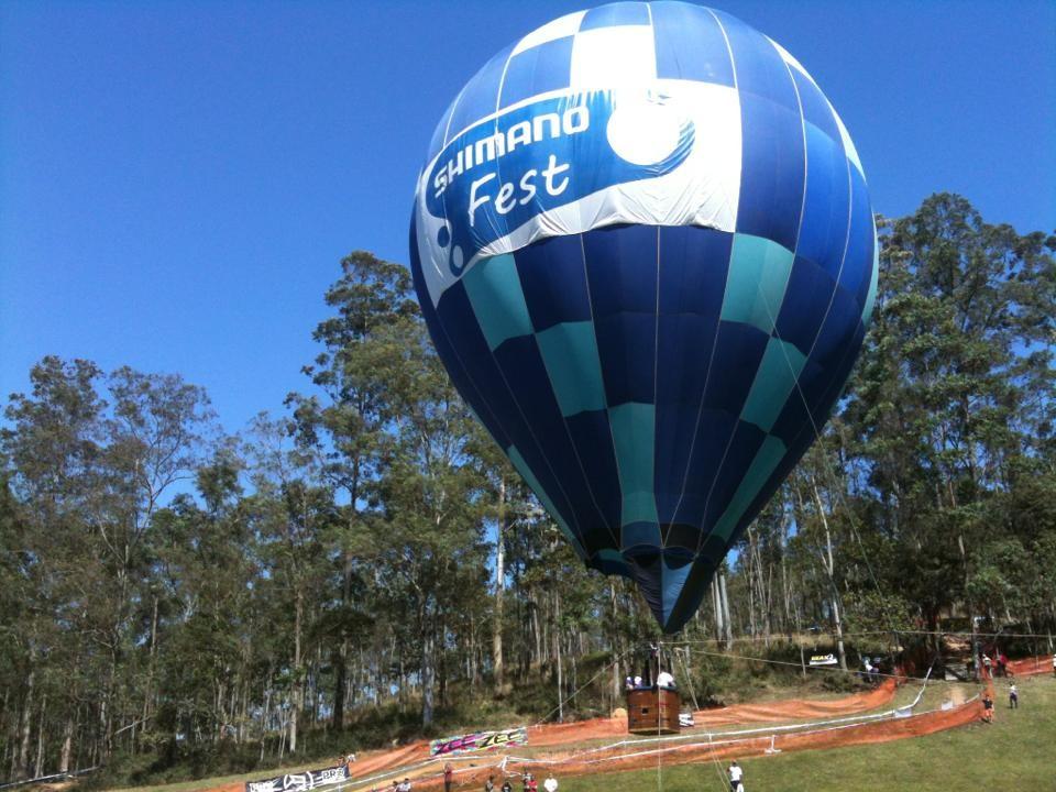 Balão no Shimano Fest de 2013