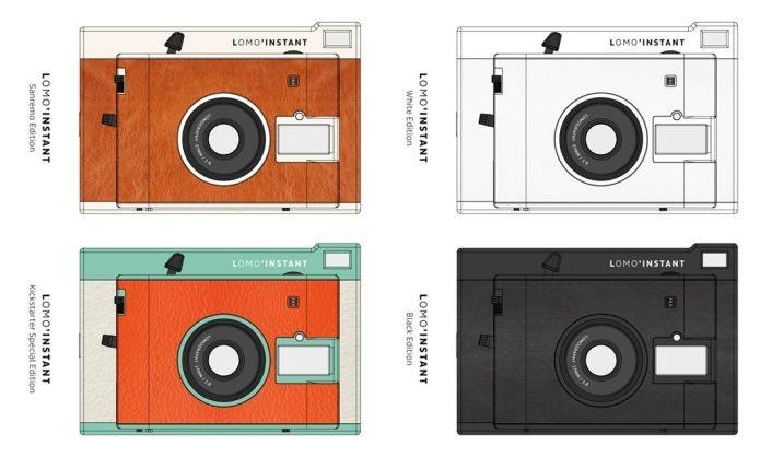 A cores do Lomo Instant (Foto: Divulgação)