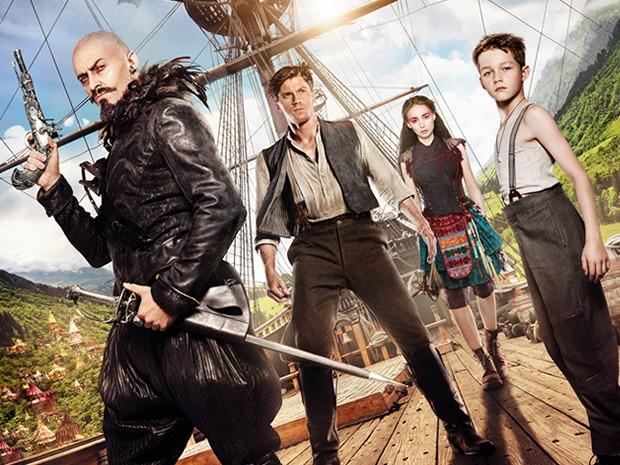 Elenco principal de Peter Pan, novo filme de Joe Wright (Foto: Divulgação)