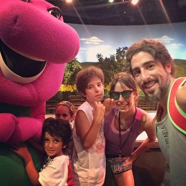 Marcos Mion aproveita o dia em família em parque de Orlando - Quem ...