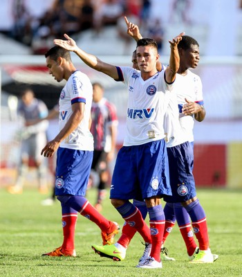 Santa Cruz x Bahia  (Foto: Marlon Costa (Pernambuco Press))