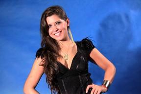 Andressa, do 'BBB 13' (Foto: Roberto Filho e Alex Palarea/ Ag. News)