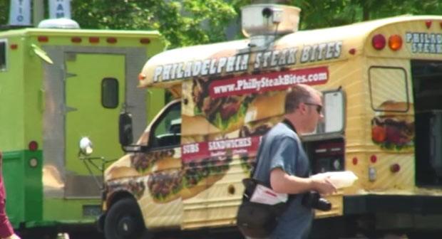 Trailers gastronômicos viram moda nos EUA (Foto: BBC)