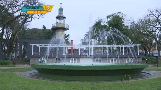 Praça da Espanha deve virar o ponto de encontro dos torcedores da atual campeã mundial (Foto: Reprodução)