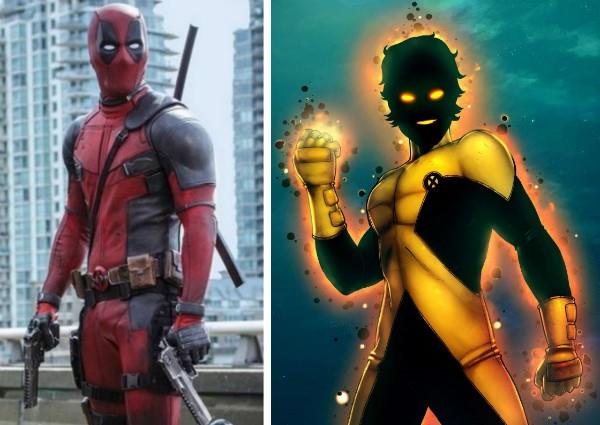 O herói Deadpool e o mutante brasileiro da Marvel, Mancha Solar (Foto: Reprodução)