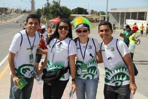 voluntários do governo federal copa das confederações (Foto: Divulgação)