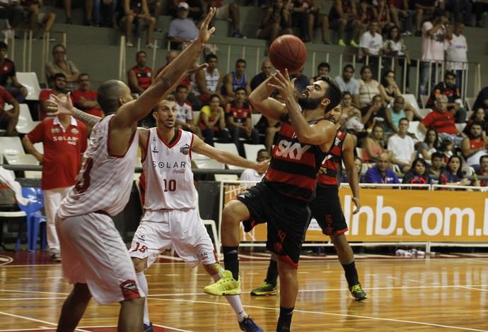 Flamengo Basquete Cearense NBB (Foto: Gilvan de Souza/Flamengo)