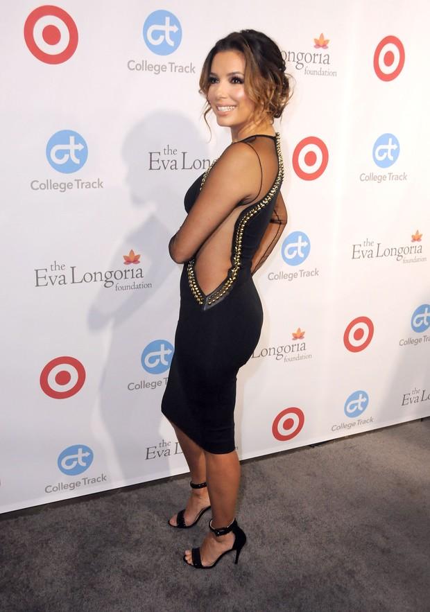 Eva Longoria em evento beneficente em Los Angeles, nos Estados Unidos (Foto: Barry King/ Getty Images)