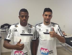 Keno e Léo Costa, reforços Ponte Preta (Foto: PontePress)