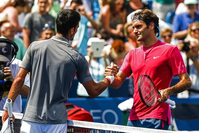 Novak Djokovic, Roger Federer, Cincinnati (Foto: EFE)