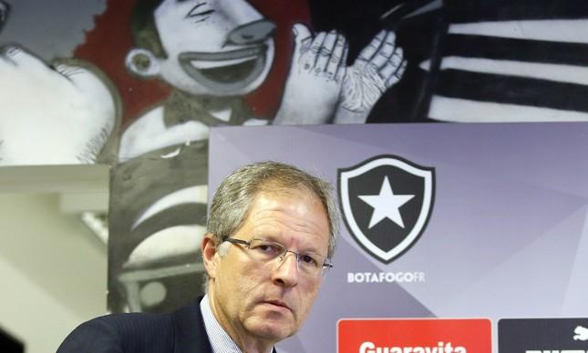 Carlos Eduardo Pereira, presidente do Botafogo