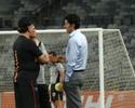 Galo perde Luan para a final; Erazo e Fábio Santos são poupados de treino