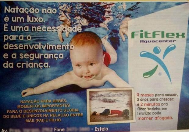 Anúncio da escola de Esteio foi publicado em redes sociais e gerou polêmica (Foto: Reprodução)