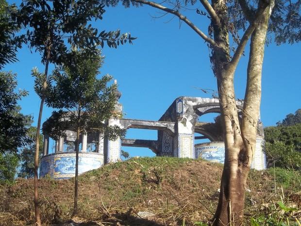 Mirante Granja Guarani Teresópolis (Foto: Leonardo Calazans)