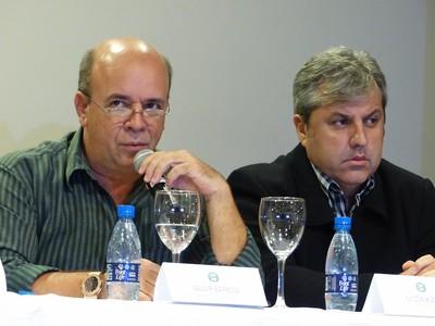 Gilson Kleina Valdir Barbosa (Foto: Thiago Ribeiro)