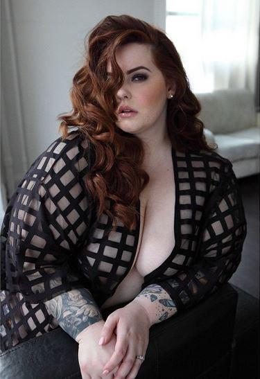 Tess Holliday (Foto: Reprodução/Instagram)