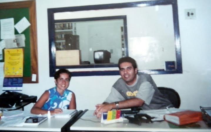 Samuel Britto começou a trabalhar na TV Grande Rio em 1997.  (Foto: Arquivo pessoal)