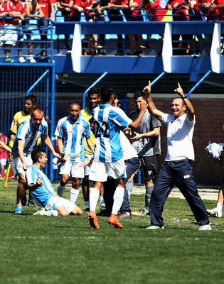 Camacho Avaí comemoração (Foto: Jamira Furlani/Avaí FC)